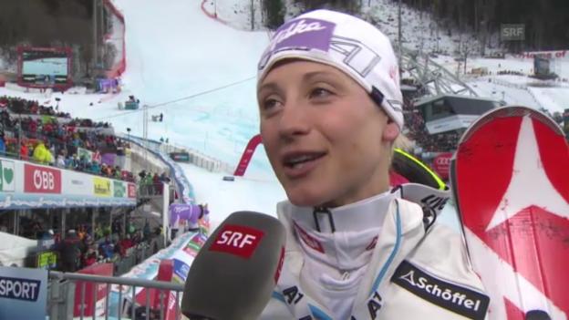 Video «WM-Slalom: Interview Kirchgasser» abspielen