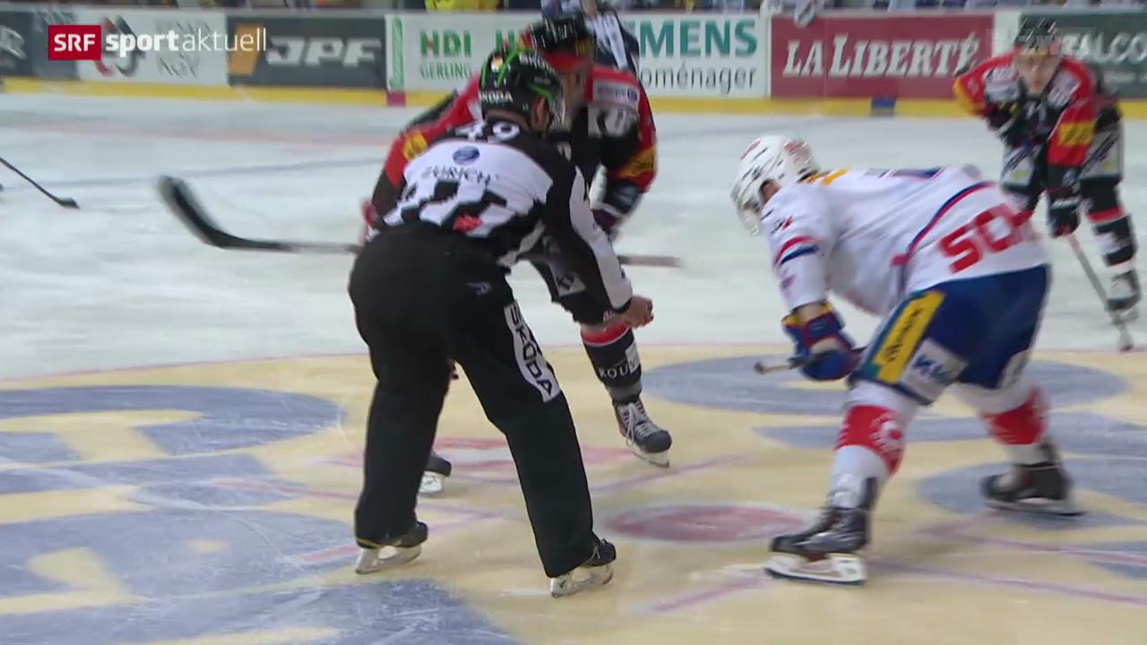 Eishockey: NLA, Freiburg - Kloten