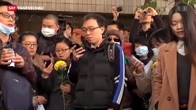 Pressefreiheit in China weiter unter Druck