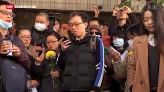 Video «Pressefreiheit in China weiter unter Druck» abspielen