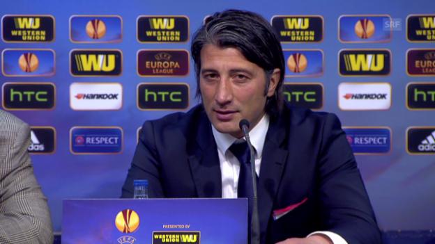 Video «Fussball: Auszüge aus der Medienkonferenz mit Murat Yakin (11.04.2014)» abspielen