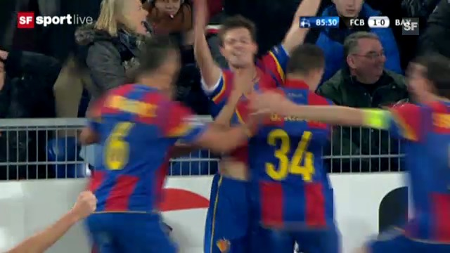 Highlights Basel - Bayern München («sportlive»)
