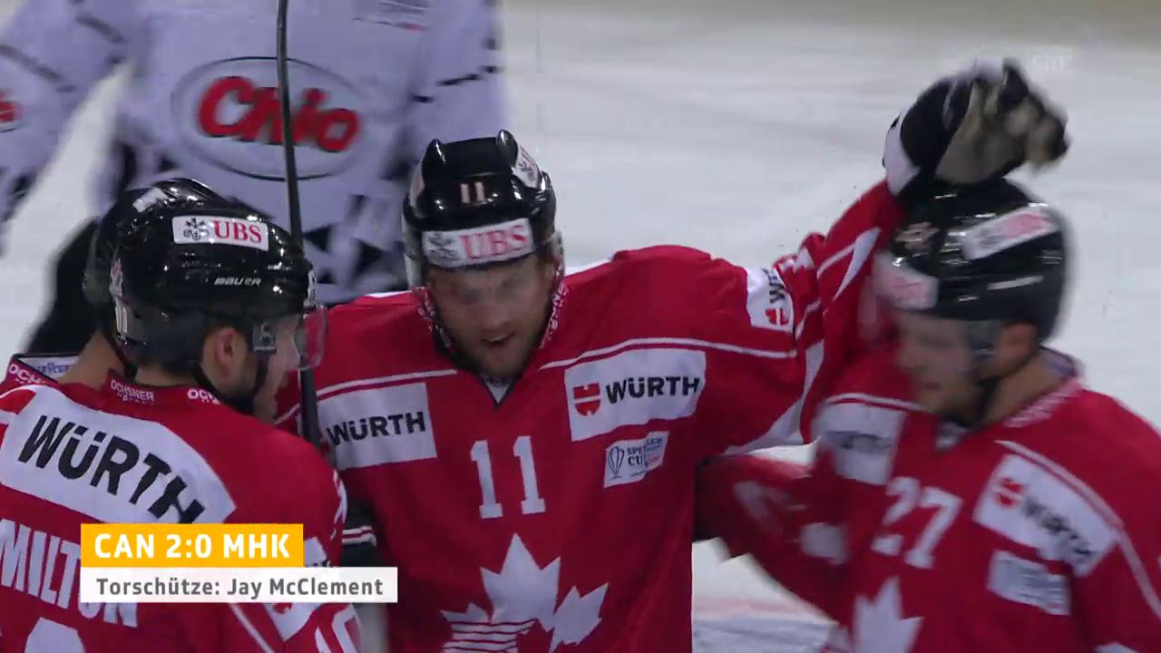 Kanada steht nach Sieg über Mountfield im Spengler-Cup-Final