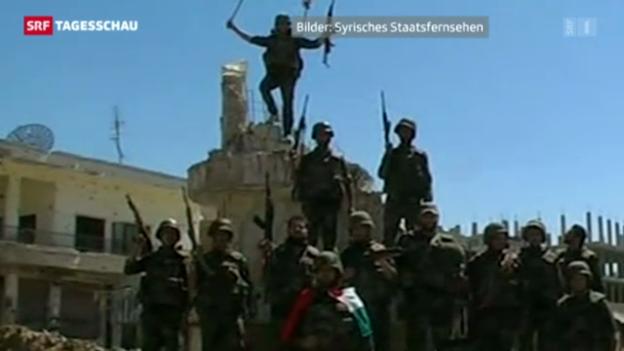 Video «Giftgaseinsatz in Syrien laut Frankreich bewiesen» abspielen