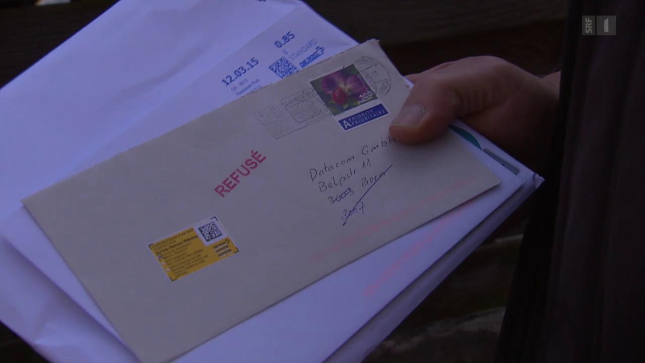 Schreibt man einen empfänger wie brief absender Formalen Brief