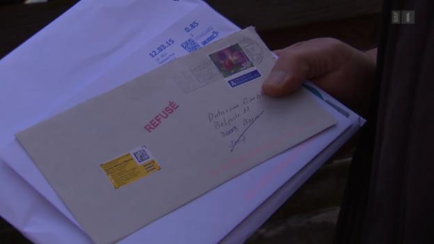 Video «Postannahme verweigert: Kündigung gilt trotzdem» abspielen
