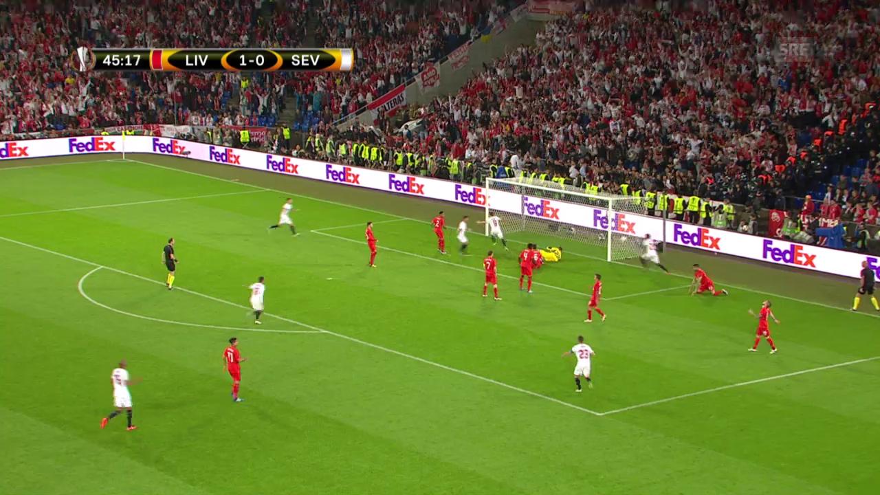 Sevillas Blitzausgleich 17 Sekunden nach Wiederanpfiff
