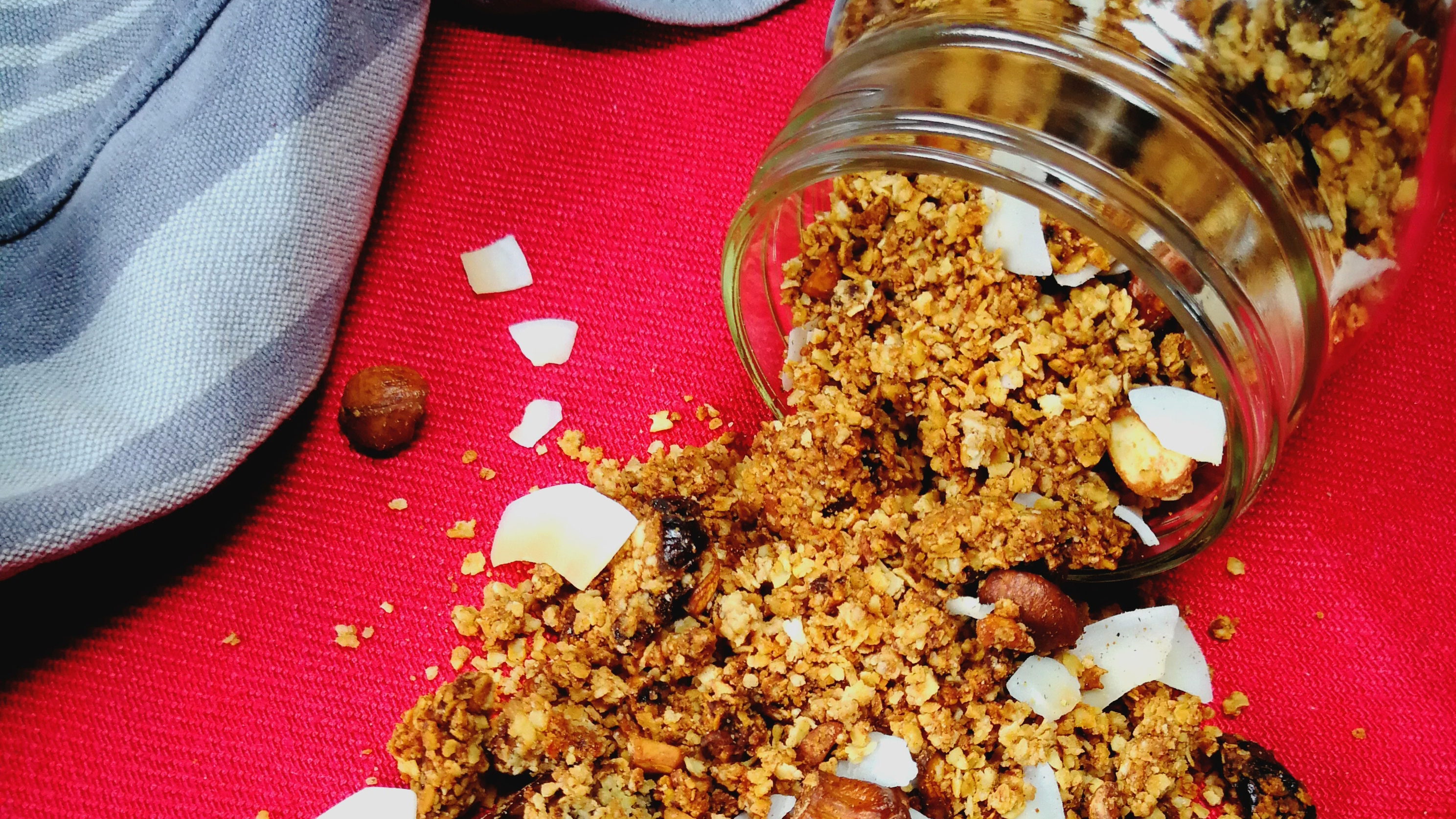 Kokos-Zimt-Granola – das ganze Rezept