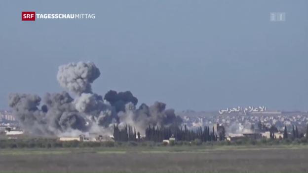 Video «Erneute Waffenruhe in Syrien» abspielen