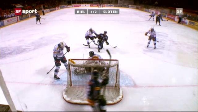 Eishockey: Biel - Kloten
