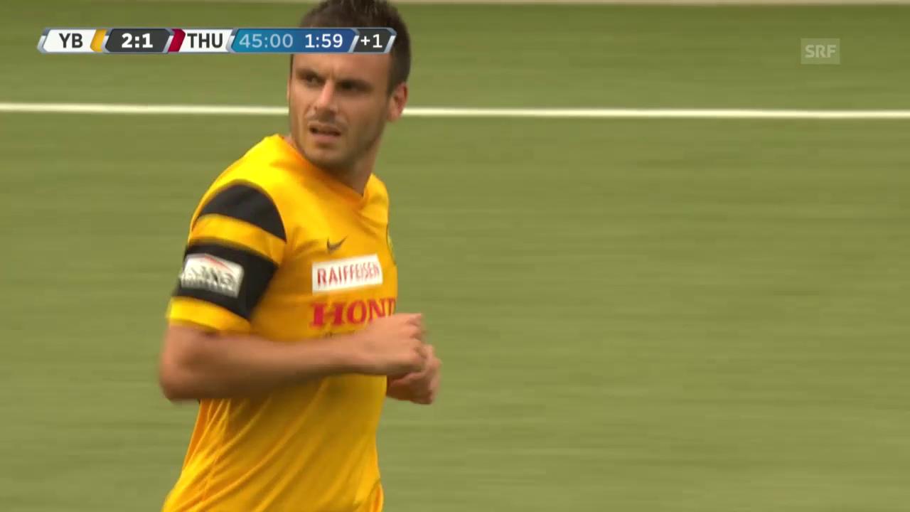 Fussball: YB-Thun, 2:1 Gajic