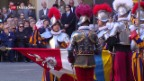 Video «23 Schweizer Gardisten vereidigt» abspielen