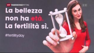 Video «Mutterschaftsdebatte in Italien» abspielen