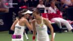 Video «Federation Cup: Schweiz verpasst Final-Einzug» abspielen