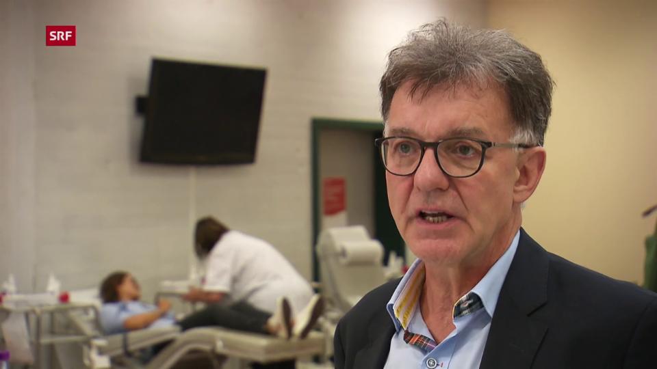Beat Frey, Chefarzt Blutspende Zürich: «Die Inkubationszeit des West-Nil-Virus beträgt zehn Tage»