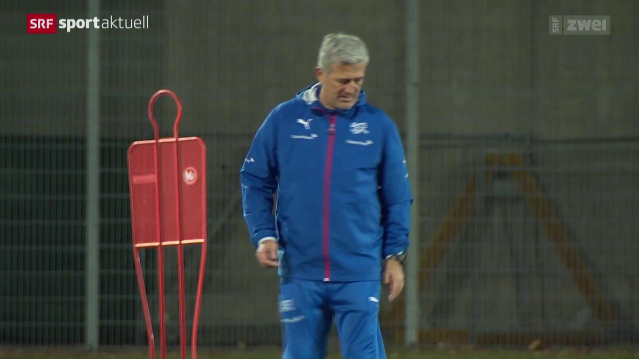 Fussball: Schweizer Nati in Wien