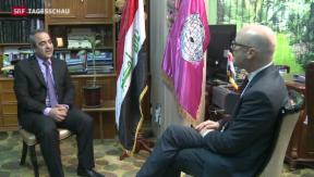 Video «Anhaltende Regierungskrise im Irak» abspielen