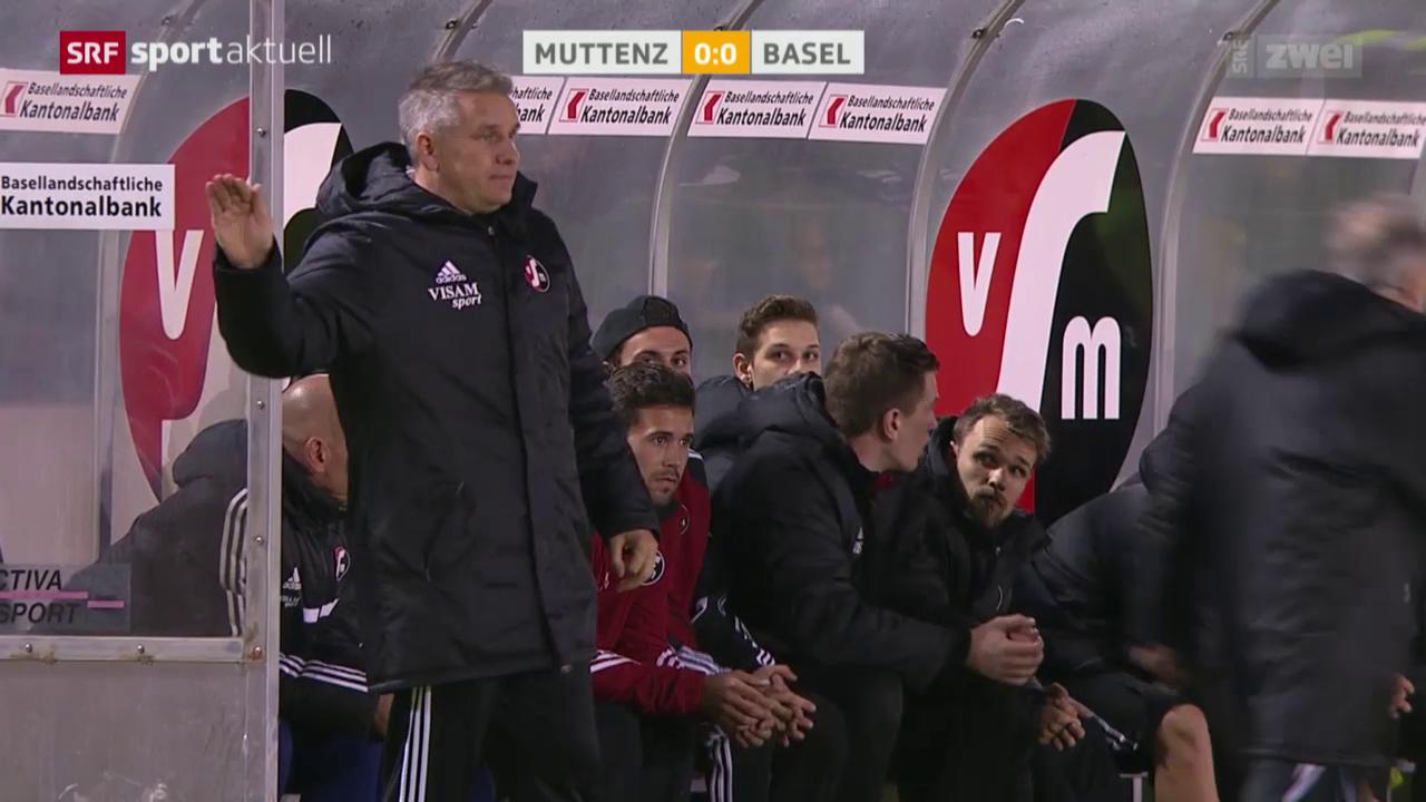 Fussball: Cup, Achtelfinals Muttenz - Basel