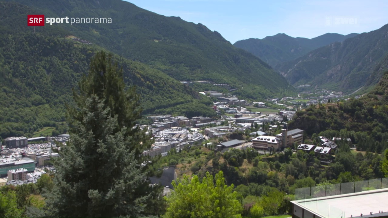 Besuch in der Fussballprovinz Andorra