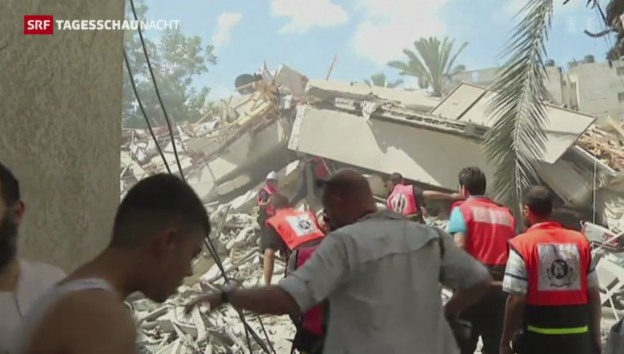 Video «Gewalteskalation im Gazastreifen» abspielen