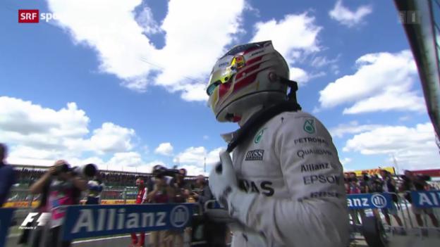 Video «Formel 1: GP Silverstone, Qualifying» abspielen