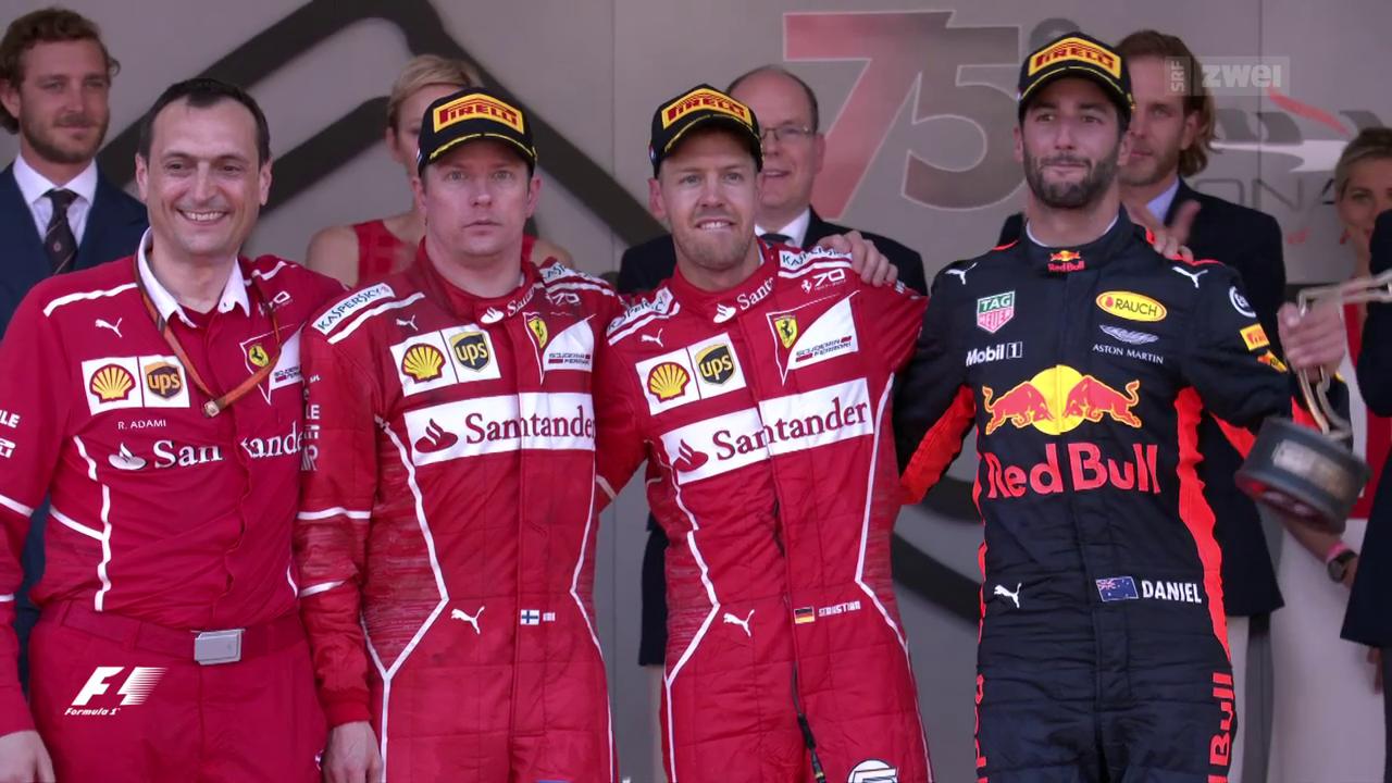 Ferrari feiert Doppelsieg in Monaco