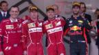Video «Ferrari feiert Doppelsieg in Monaco» abspielen