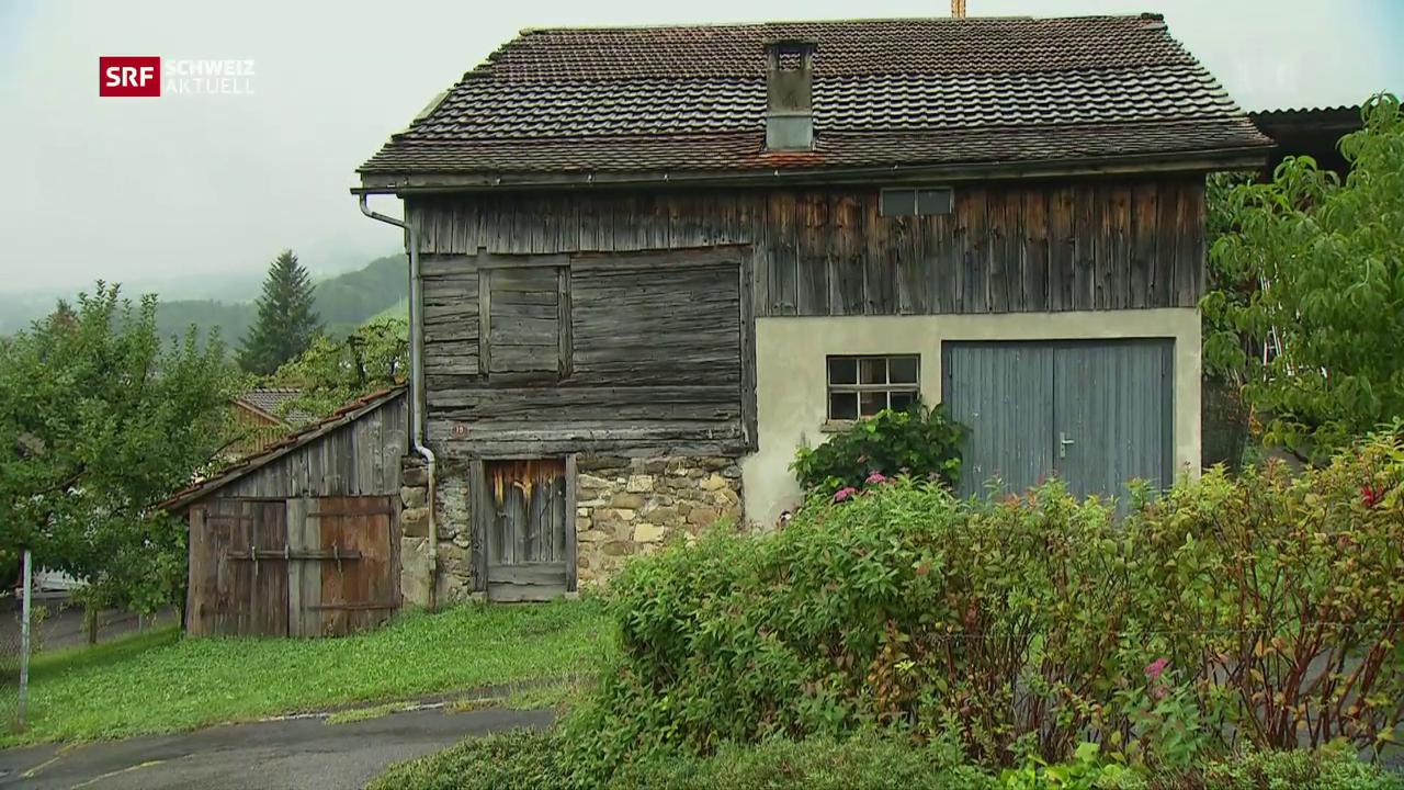 700-jähriges Holzhaus «provisorisch gerettet»