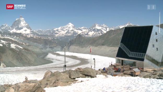 Video «Monte Rosa Hütte: Flop» abspielen