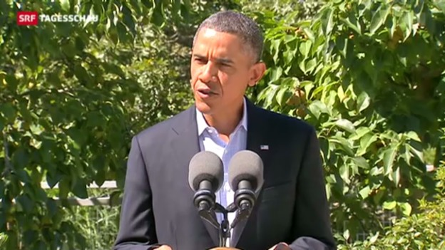 Video «Obama meldet sich erstmals zu Ägypten» abspielen