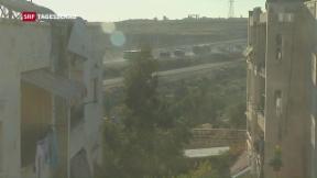 Video «Evakuierung in Aleppo läuft schleppend» abspielen