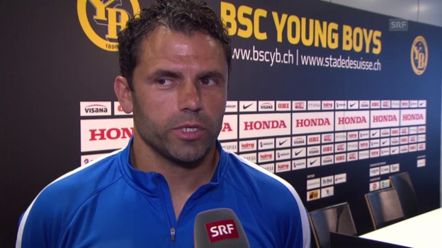 Video «Fussball: Champions-League-Qualifikation, Uli Forte im Interview» abspielen