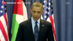 Video «Obama trifft Abbas» abspielen