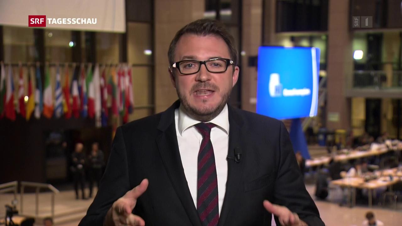 SRF-Korrespondent Sebstian Ramspeck in Brüssel