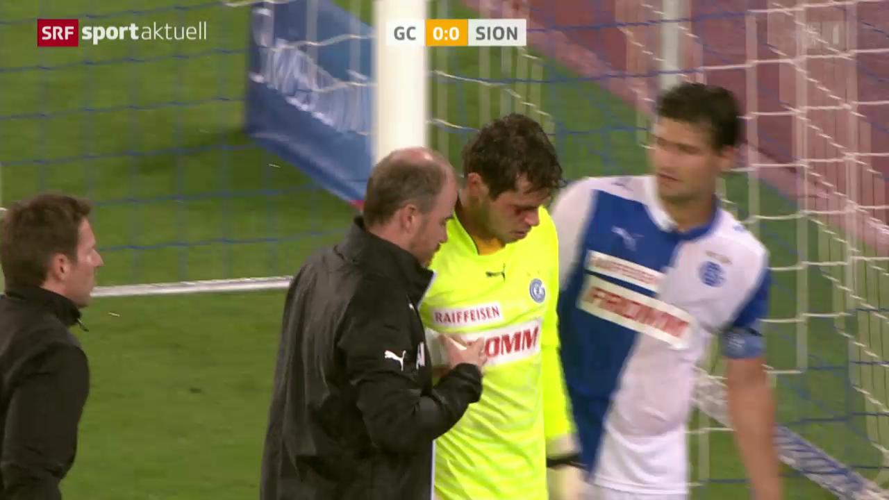 Fussball: GC-Goalie Davari verletzt sich