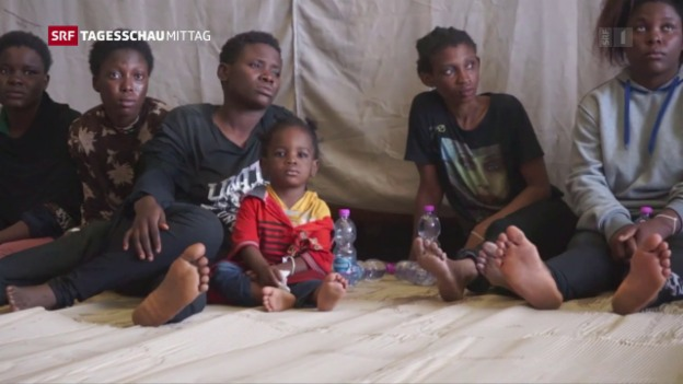 Video «Kinder alleine auf der Flucht» abspielen