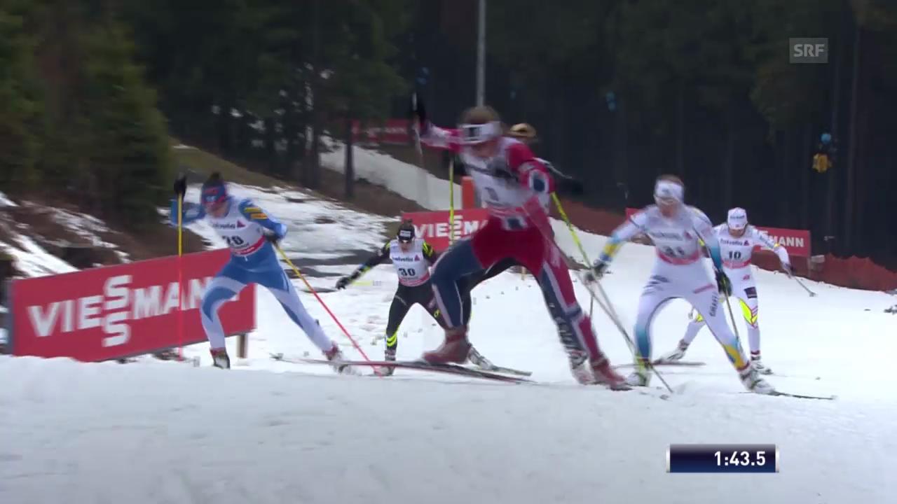 Langlauf, Tour de Ski: Sprint freie Technik («sportlive», 29.12.2013)