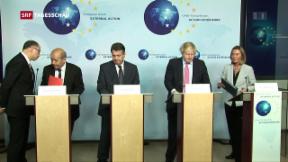 Video «EU warnt vor Kündigung des iranischen Atomdeals» abspielen