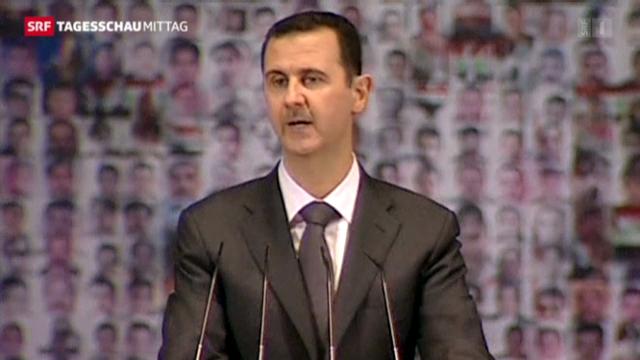 Assad ruft zur Mobilmachung auf