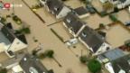 Video «Schwere Regenfälle in Grossbritannien» abspielen