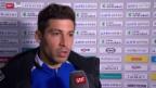 Video «Fussball: Super League, St. Gallen - Basel, Stimmen zum Spiel» abspielen