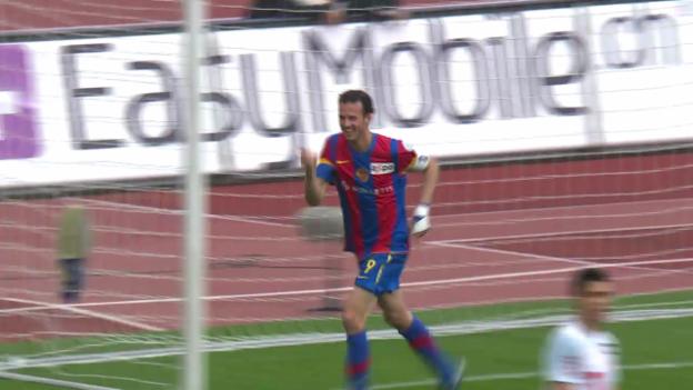 Video «Fussball: SL, Marco Strellers Tore gegen den FCZ seit 2009» abspielen
