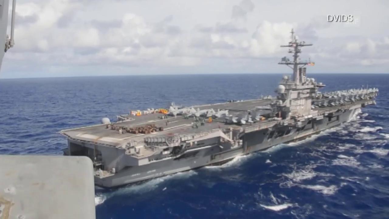 Trumps «Armada» hat Verspätung