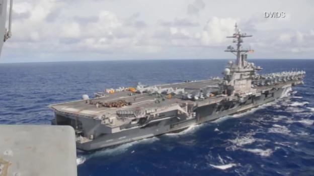 Video «Trumps «Armada» hat Verspätung» abspielen