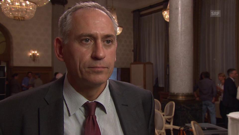 Hans-Peter Wessels, Vorsteher des Bau- und Verkehrsdepartement