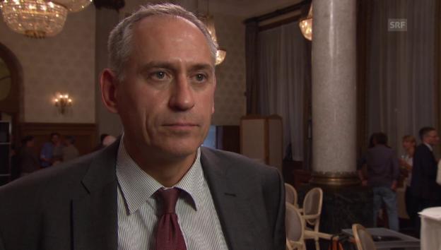 Video «Hans-Peter Wessels, Vorsteher des Bau- und Verkehrsdepartement» abspielen