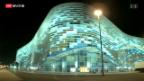 Video «Nervosität in der Olympia-Stadt Sotschi» abspielen