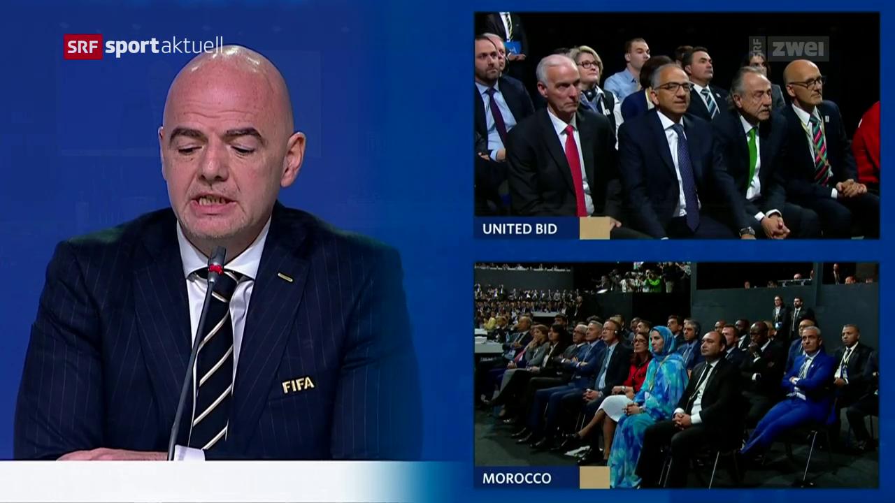 Die WM 2026 wird in 3 Länder stattfinden