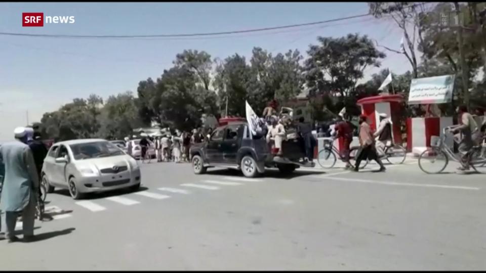 Vormarsch der Taliban in Afghanistan