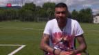 Video «Zu Besuch bei GC-Brasilianer Caio» abspielen